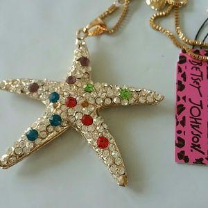 Jewelry - Betsey Johnson vintage star large,piece